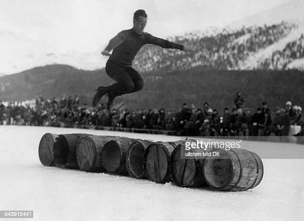 Image result for Pics of barrel jumping competition