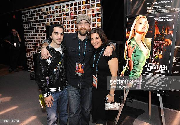 Phil Testa director Craig Brewer and Elizabeth Bersaneti attend Sneak Peek $5 Cover during the 2009 Sundance Film Festival at New Frontier on Main on...