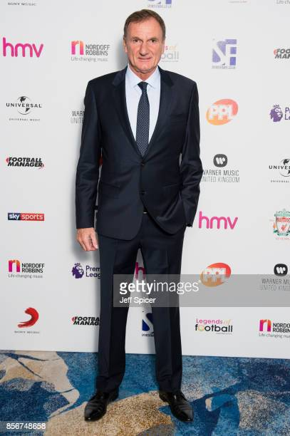 Phil Thompson attends the Legends of Football fundraiser at The Grosvenor House Hotel on October 2 2017 in London England The annual footballthemed...