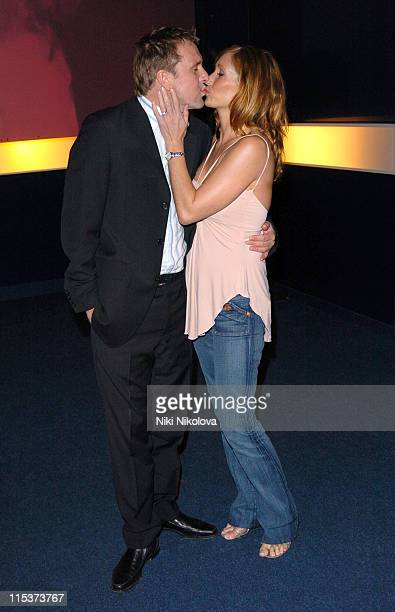 """Phil Tufnell and guest during """"Hell's Kitchen 2""""- Day 10 - Arrivals at Atlantis Building, Brick Lane in London, Great Britain."""