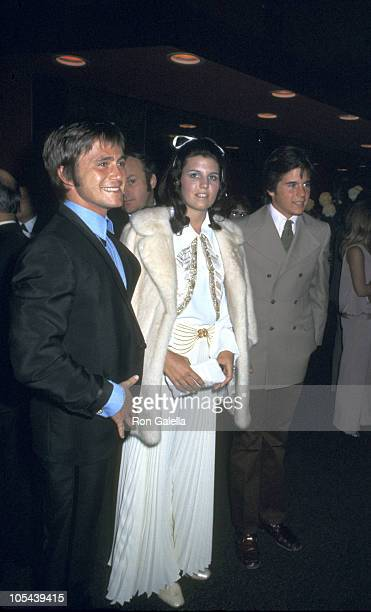Phil Vandervoort Luci Arnaz and Desi Arnaz Jr during A Boy and Girl Premiere at United Artists Westwood Theater in Beverly Hills California United...