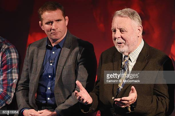 Phil Vickery MBE , World Cup Winner 2003 and Terry Waite CBE during Live the Passion: Putting the passion in compassion part of Advertising Week...