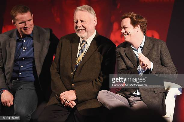 Phil Vickery MBE , World Cup Winner 2003, Terry Waite CBE and Tom Parker Bowles Food Critic during Live the Passion: Putting the passion in...