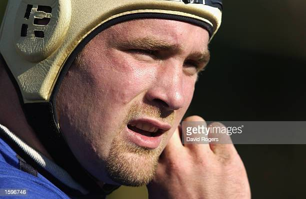 Phil Vickery of England during an England training session held on June 13 2002 in Buenos Aires Argentina DIGITAL IMAGE