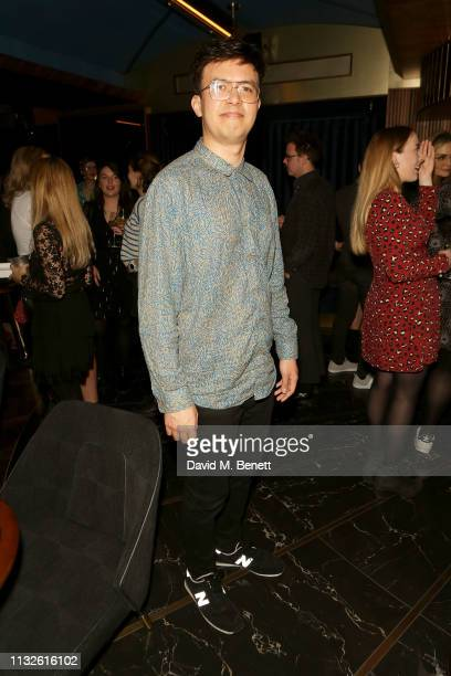 Phil Wang attends a party hosted by Gina Martin and Ryan Whelan to celebrate the Royal ascent into law of the Voyeurism Bill making upskirting...