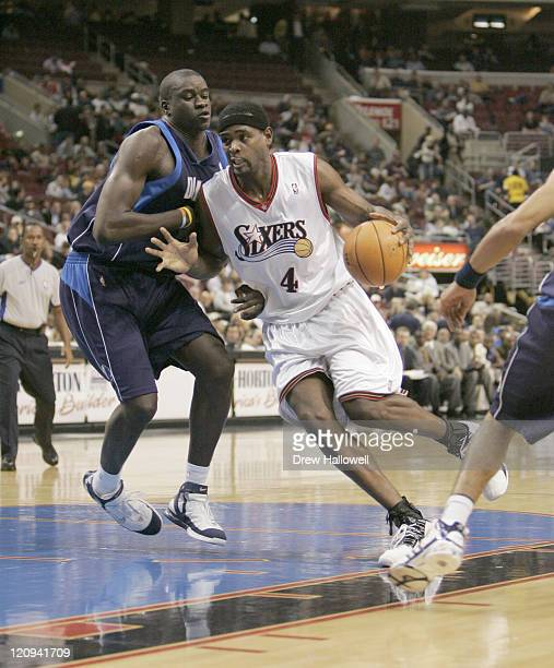 Philadelphia 76ers Chris Webber Wednesday Nov 9 2005 in Philadelphia PA The Philadelphia 76ers defeated the Dallas Mavericks 11297