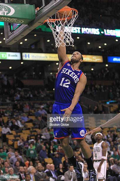 Philadelphia 76ers small forward Evan Turner's dunk late in the fourth quarter was the punctuation mark on the Philadelphia win eliminating any hope...
