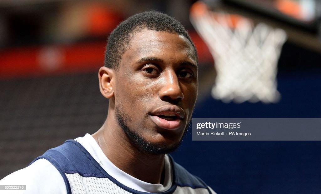 Basketball - NBA Global Games Manchester 2013 - Oklahoma City Thunder v Philadelphia 76ers - Philadelphia 76ers Practice Session - Phones4 u Arena : News Photo
