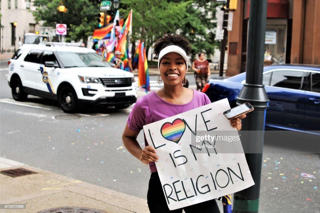Pride Parade In Philadelphia : News Photo