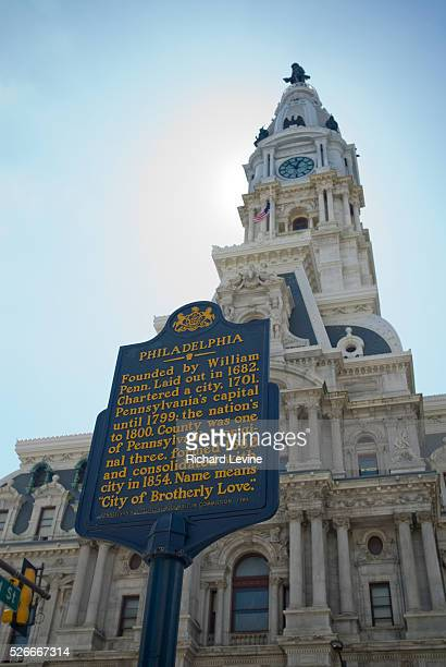 Philadelphia City Hall, Market Street in City Center Philadelphia, PA on Wednesday, March 31, 2010. The Lonely Planet travel guide has ranked...