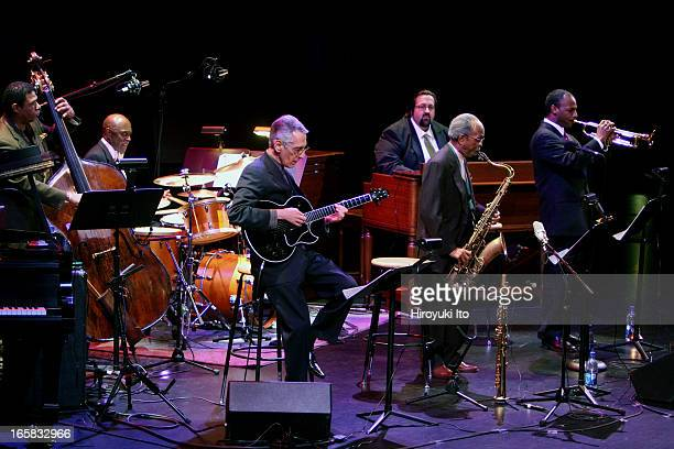 Philadelphia City of Brotherly Jazz at Jazz at Lincoln Center's Rose Theater on Friday night March 10 2006This imageFrom left Buster Williams Albert...