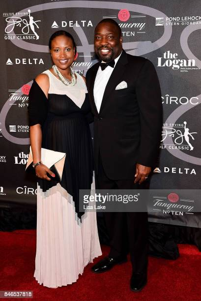 Philadelphia Councilman Kenyatta Johnson attends the Erving Golf Classic Black Tie Ball sponsored by Delta Airlines Pond LeHocky Law with cocktails...