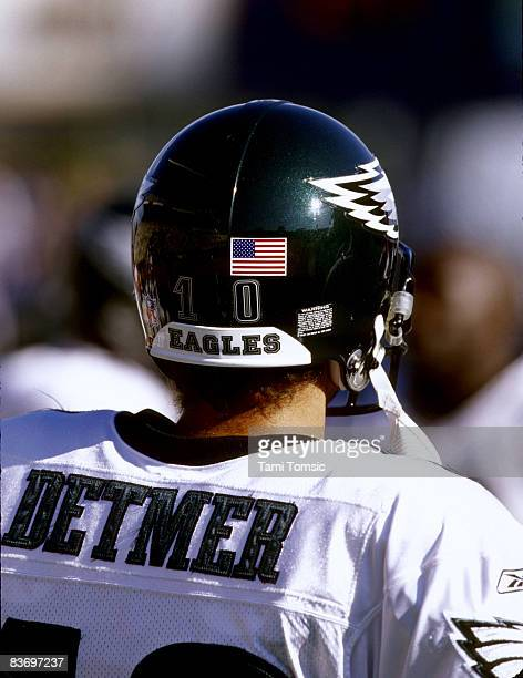 Philadelphia Eagles backup quarterback Koy Detmer before a 273 victory over the Seattle Seahawks on September 23 at Husky Stadium in Seattle...