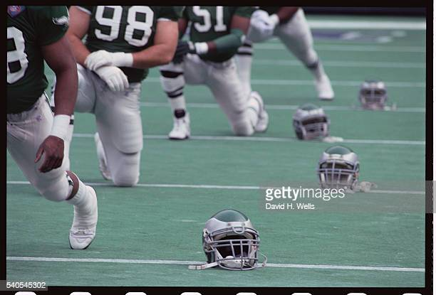 Philadelphia Eagles Before a Game