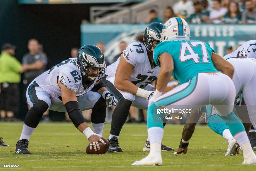 NFL: AUG 24 Preseason - Dolphins at Eagles : News Photo
