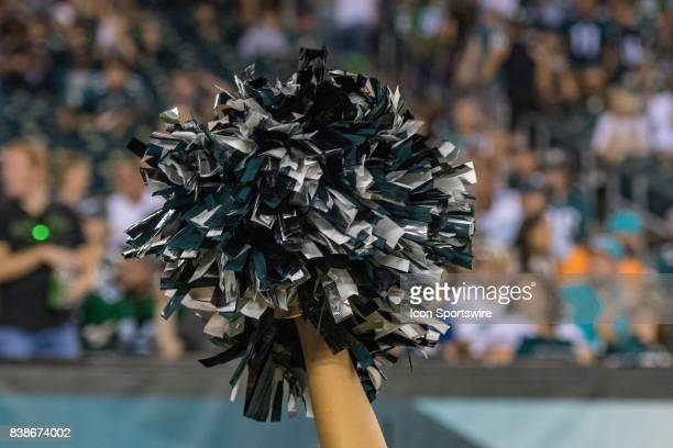 Philadelphia Eagles cheerleader during the preseason National Football League game between the Miami Dolphins and the Philadelphia Eagles on August...