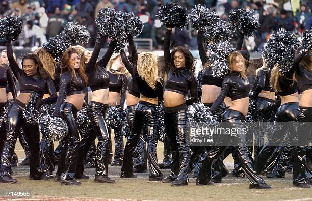 Philadelphia Eagles cheerleaders during NFC Championship against the Atlanta Falcons at Lincoln Financial Field in Philadelphia Pa on Sunday Jan 23...