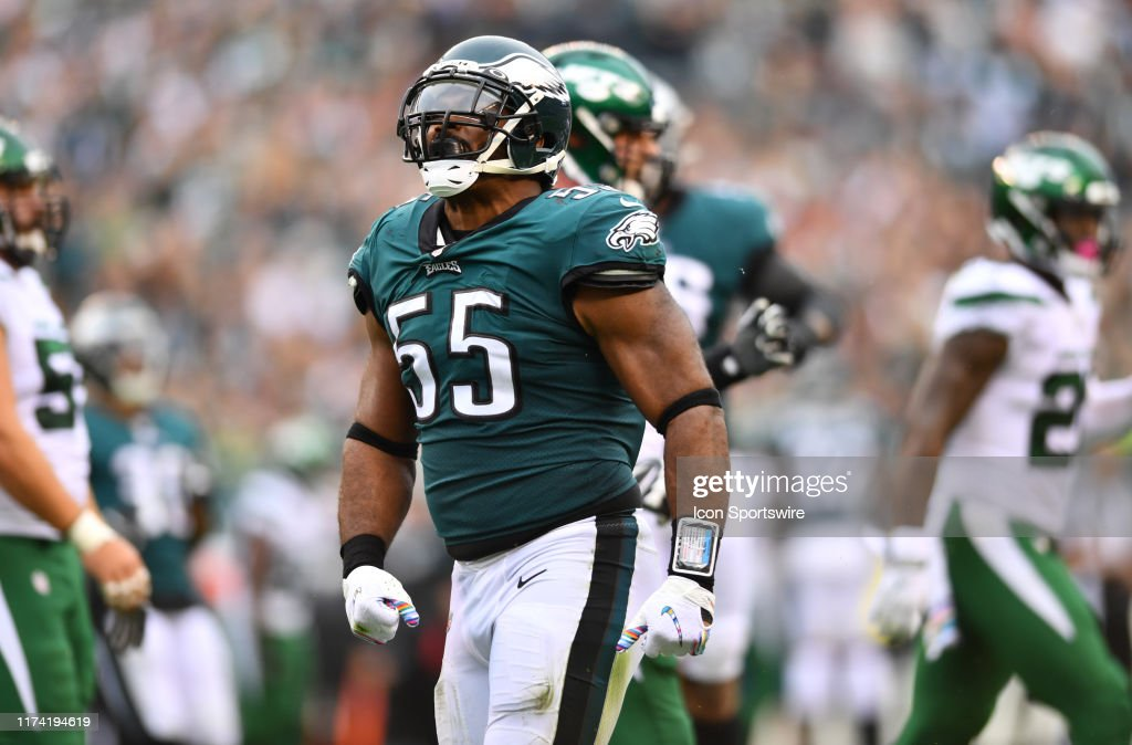 NFL: OCT 06 Jets at Eagles : News Photo