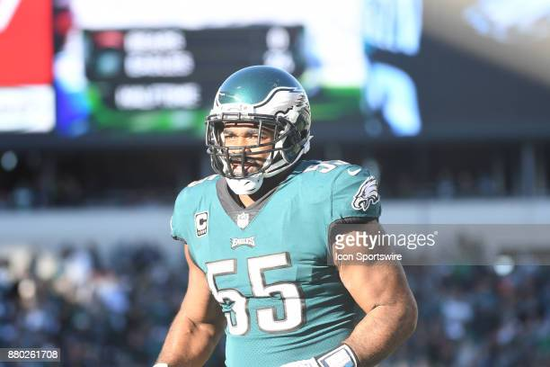 Philadelphia Eagles defensive end Brandon Graham heads to the locker room during a NFL football game between the Chicago Bears and the Philadelphia...