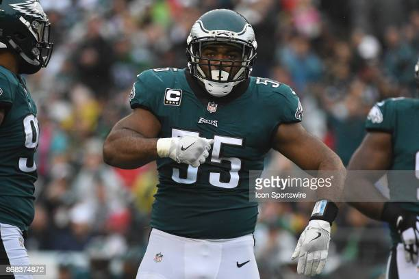 Philadelphia Eagles defensive end Brandon Graham looks on during a NFL football game between the San Fransisco 49ers and the Philadelphia Eagles on...