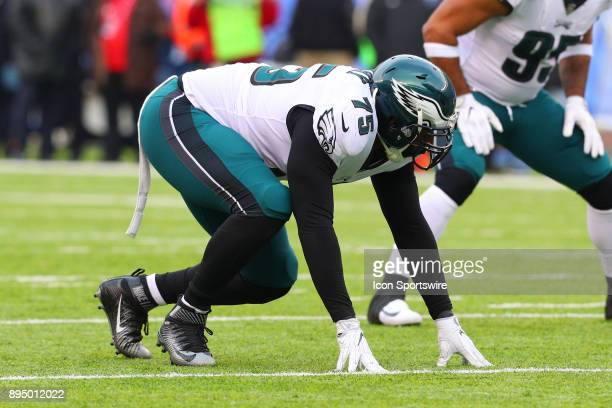 Philadelphia Eagles defensive end Vinny Curry during the National Football League game between the New York Giants and the Philadelphia Eagles on...