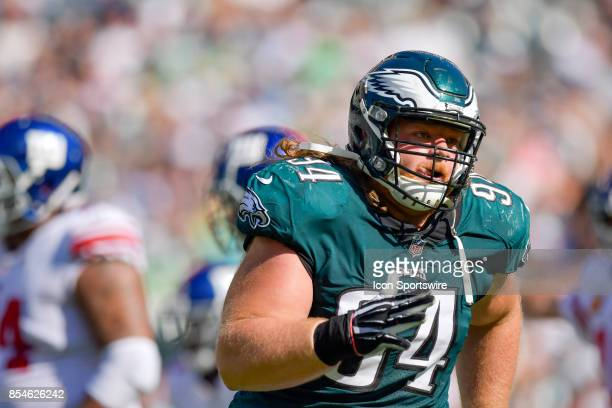 c59ac4bd9 Philadelphia Eagles defensive tackle Beau Allen in action during the NFL  game between the New York