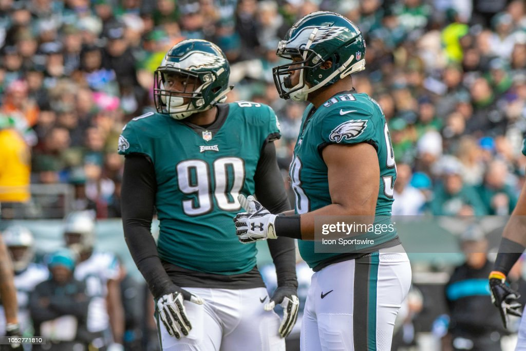 NFL: OCT 21 Panthers at Eagles : News Photo