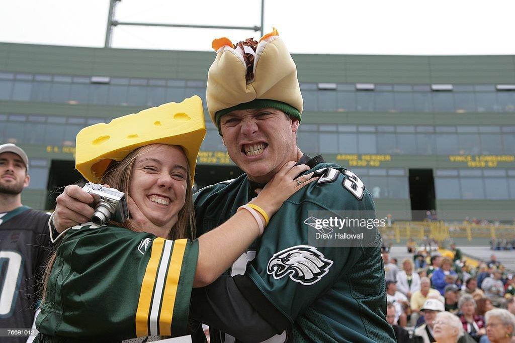 Philadelphia Eagles v Green Bay Packers : ニュース写真