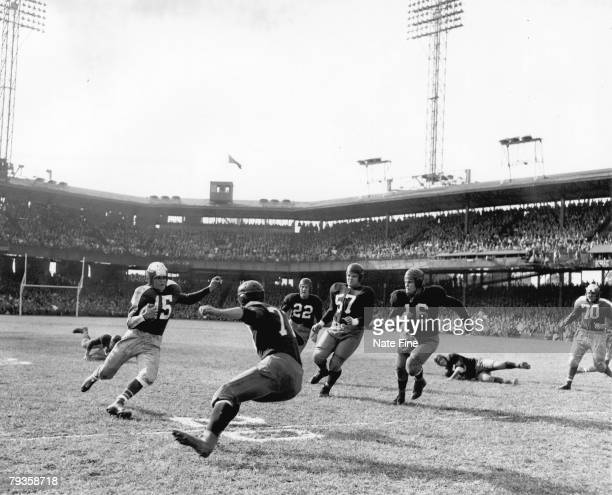 Philadelphia Eagles Hall of Fame halfback Steve Van Buren will be remembered for scoring the only touchdown in league championship game in a blizzard...