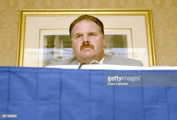 Philadelphia Eagles head coach Andy Reid talks about Eagles and Green Bay Packers great Reggie White Sunday December 26 2004 Reggie White passed away...