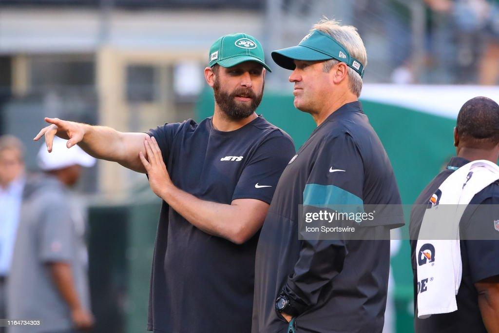 NFL: AUG 29 Preseason - Eagles at Jets : News Photo