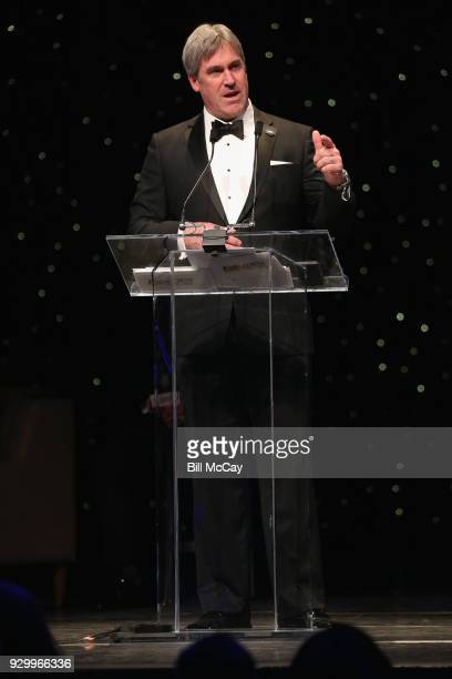 Philadelphia Eagles Head Football Coach Doug Pederson winner of the 29th Annual Earle 'Greasy' Neal Award for Professional Coach of the Year attends...