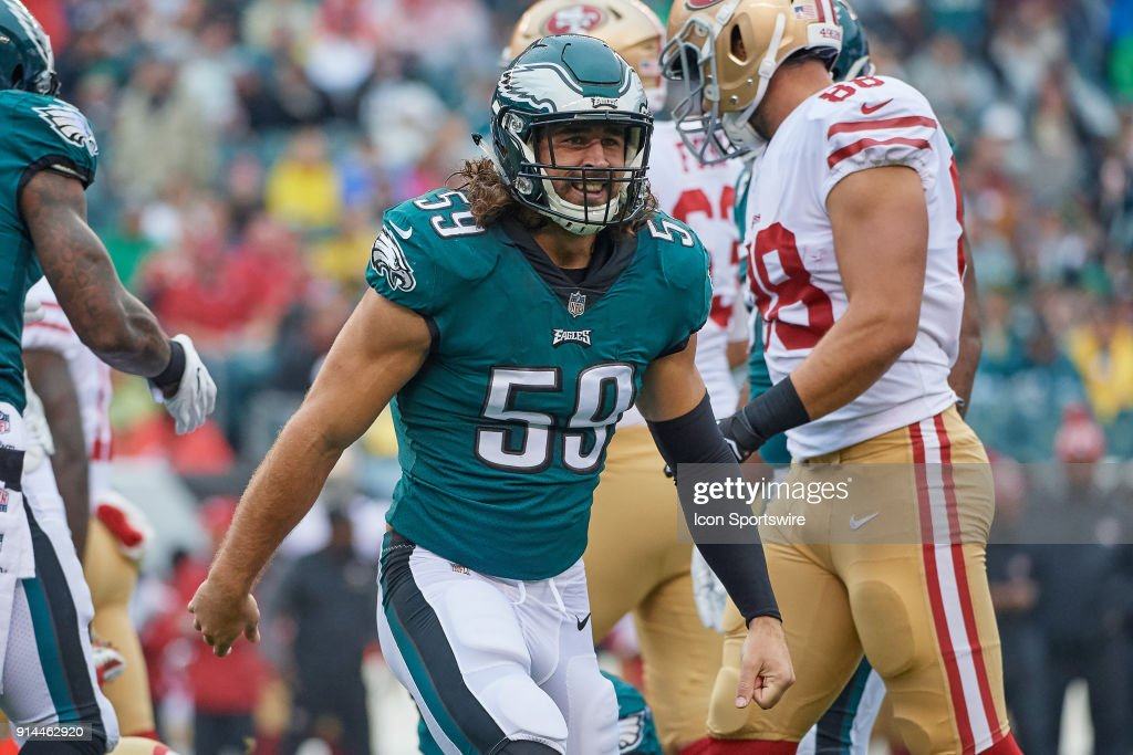 NFL: OCT 29 49ers at Eagles : News Photo