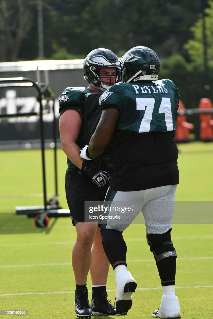 Eagles inexperienced offensive line will be well served by