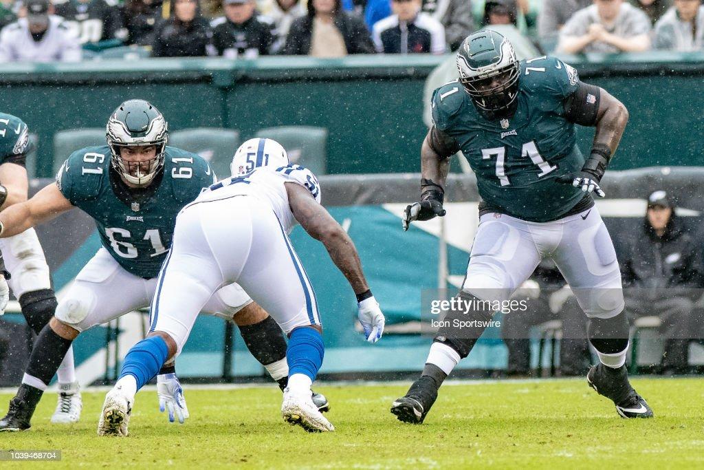 Philadelphia Eagles place offensive lineman on injured