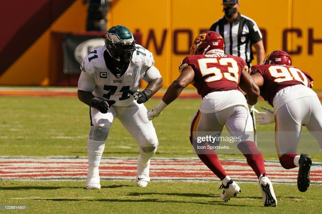 NFL: SEP 13 Eagles at Washington Football Team : News Photo