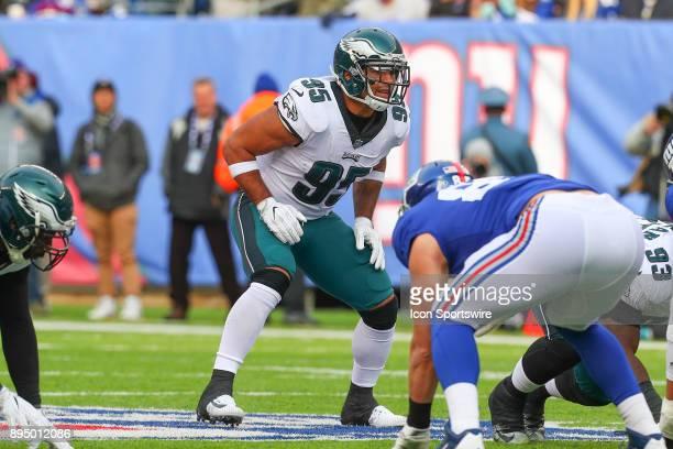 Philadelphia Eagles outside linebacker Mychal Kendricks during the National Football League game between the New York Giants and the Philadelphia...