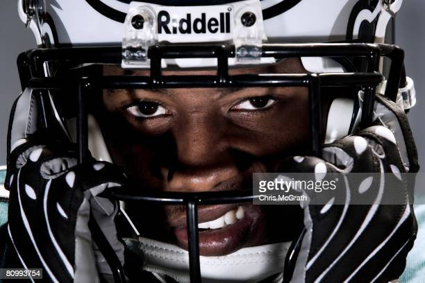 Philadelphia Eagles player Asante Samuel poses for portraits April 302008 at the NovaCare Training Facility in Philadelphia Pennsylvania