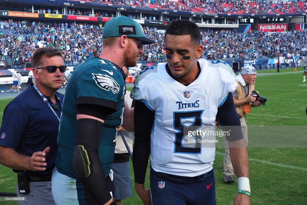 NFL: SEP 30 Eagles at Titans : News Photo