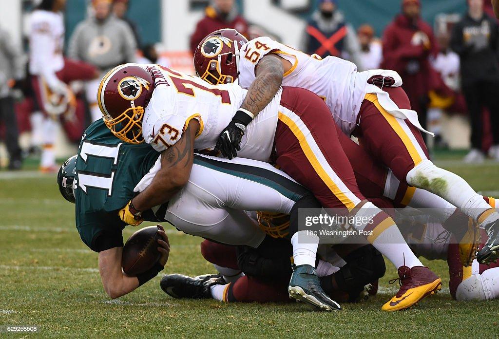 NFL-Washington Redskins at Philadelphia Eagles : Nachrichtenfoto