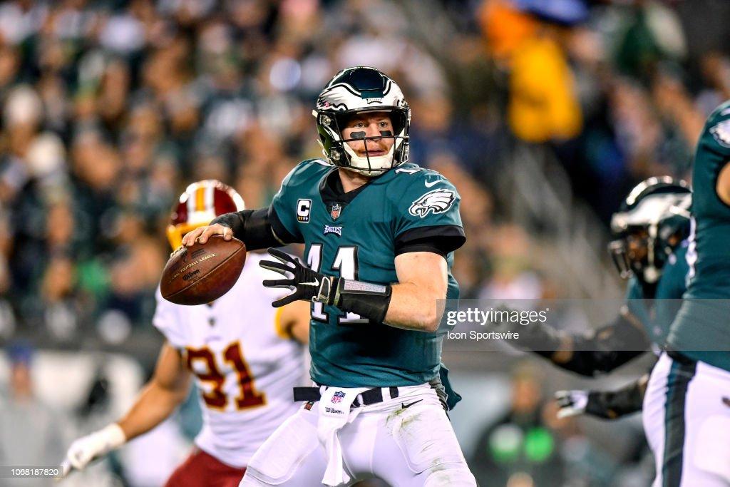 NFL: DEC 03 Redskins at Eagles : News Photo