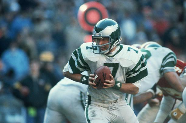 Philadelphia Eagles Quarterback Ron Jaworski