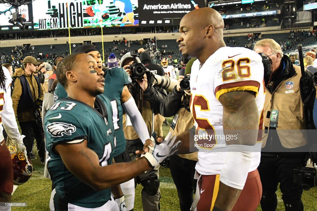 NFL: DEC 03 Redskins at Eagles : News Photo