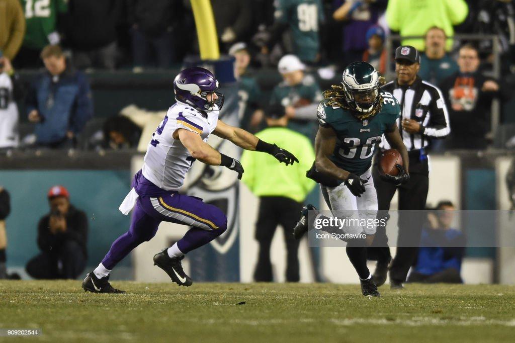 NFL: JAN 21 NFC Championship Game - Vikings at Eagles : News Photo