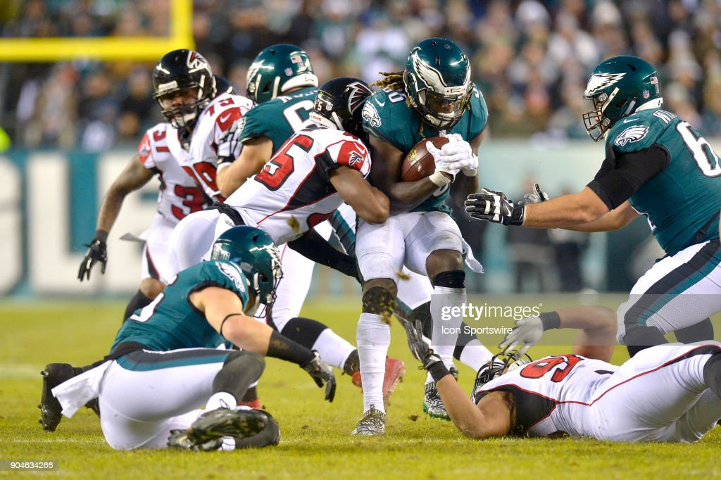 NFL: JAN 13 NFC Divisional Playoff  Falcons at Eagles : News Photo