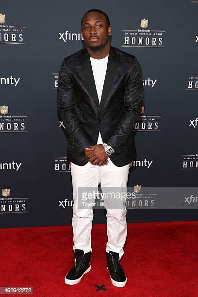Philadelphia Eagles running back LeSean McCoy attends the 2015 NFL Honors at Phoenix Convention Center on January 31 2015 in Phoenix Arizona