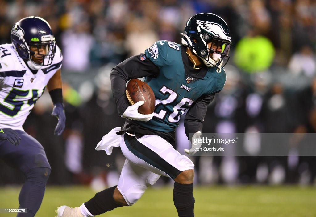 NFL: JAN 05 NFC Wild Card - Seahawks at Eagles : News Photo