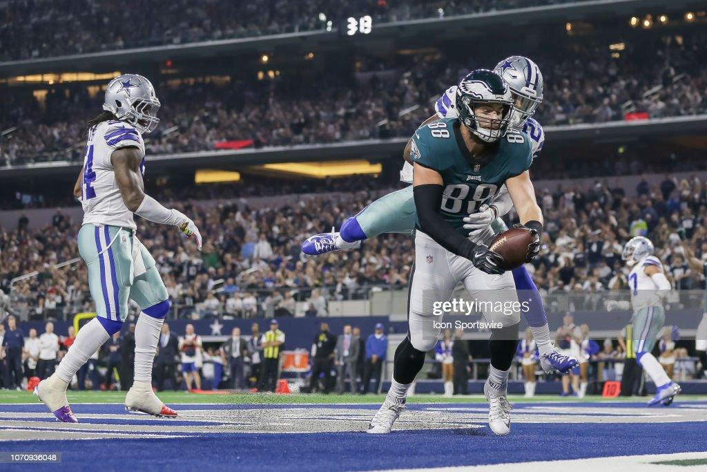 NFL: DEC 09 Eagles at Cowboys : News Photo