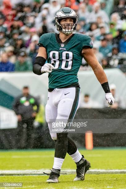 Philadelphia Eagles tight end Dallas Goedert during the National Football League game between the Indianapolis Colts and the Philadelphia Eagles on...