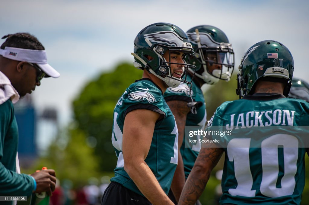 NFL: MAY 21 Philadelphia Eagles OTA : News Photo